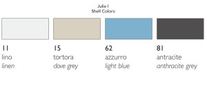 Julia Shell Colors