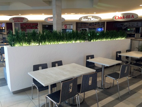 Corian Amp Ss Planter Wall Banquette Wesnic
