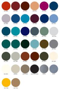 BioEdge Standard Colors